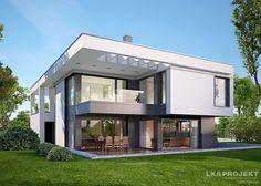 Projekt domu nowoczesnego LK&Projekt http://lk-projekt.pl/lkand1136-produkt-9144.html #domy #nowoczesne