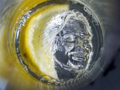 Richard Branson ice cubes, now on Virgin Atlantic flights: http://on.msnbc.com/K6zg8a