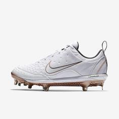 2523a7960 Nike Lunar Hyperdiamond 2 Pro Women's Softball Cleat Softball Cleats, Nike  Lunar, White Style