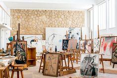 L'atelier de mes rêves Atelier de Joan Miró  Picture by @Ludovic Maisant