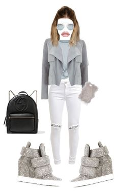 """""""Untitled #188"""" by rachelruby1989 on Polyvore featuring FiveUnits, Giuseppe Zanotti, T By Alexander Wang, Christian Dior, Mint Velvet, Lime Crime and Gucci"""