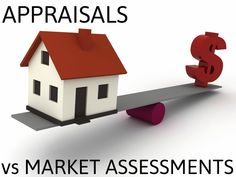 Last Friday's post helped shed some light on how a Real Estate Agent goes about determining the current market value of your home.  Now that market assessments are crystal clear, the idea of a property appraisal might still be a little foggy...