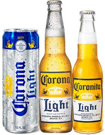Corona Light.  Well, when you have run out of Corona Extra and the girls haven't drank all of the Corona Light and you still want more.  Don't drink it, send for more beer.