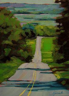 """Lancaster County"" - Original Fine Art for Sale - © Karin Jurick"
