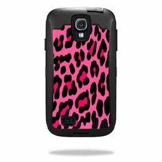 MightySkins Protective Vinyl Skin Decal Cover for OtterBox Defender Samsung Galaxy S4 Case Sticker Skins Pink Leopard MightySkins http://www.amazon.com/dp/B00FAPRLT8/ref=cm_sw_r_pi_dp_ZmChub0K1JH10