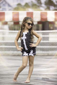 One Good Thread - Chichanella Bella - Licorice Twist Black Tankini SwimSuit Sun Suit, $54.40 (http://www.onegoodthread.com/chichanella-bella-licorice-twist-black-tankini-swimsuit-sun-suit/)