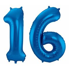 Cijfer 16 ballon blauw. Set van twee blauwkleurige folie ballonnen die samen het cijfer 16 vormen. De ballonnen zijn opgeblazen ongeveer 86 cm groot. U kunt de ballonnen heel gemakkelijk met een ballonnenpomp opblazen. U kunt de ballonnen ook zelf vullen met helium wat bij ons in tankjes verkrijgbaar is. De ballonnen worden dus zonder helium geleverd. Met een helium tank geschikt voor 30 ballonnen kunt u circa 4 ballonnen vullen en met een helium tank geschikt voor 50 ballonnen kunt u circa…