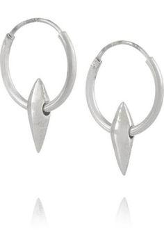 #covetmeSterling silver hoop earrings #hoopearrings #women #covetme #wendynichol