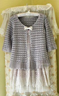 Crochet Knitting Handicraft: Crochet Clothes