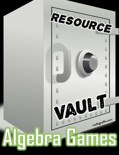 Free games for Algebra 1 (and a couple for Pre-Algebra) - downloadable games and online games collected for you