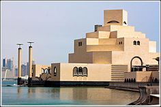 Designed by the incredible I.M.Pei at 92 years of age. The Museum of Islamic Art in Doha.