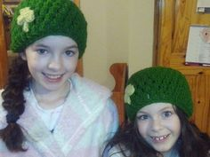 Craft for the Craic Entries: Ciara Lee Knitted Hats, Crochet Hats, Crochet For Kids, Beanie, Knitting, Crafts, Beautiful, Fashion, Knit Hats