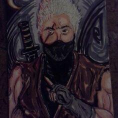 Rikimaru SketchCard made for my wife....^^