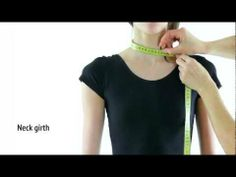 ▶ How to Measure a Girl for Rhythmic Gymnastics & Ice Figure Skating Leotard Sewing - YouTube