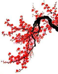 Sakura tree painting japanese art New ideas Blossom Tree Tattoo, Blossom Trees, Cherry Blossoms, Cherry Tree Tattoos, Cherry Blossom Painting, Chinese New Year Decorations, Japanese Tree, Japanese Blossom, Landscape Tattoo