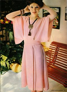 The Vintage Pattern Files: 1970's Sewing - Des robes vite cousues