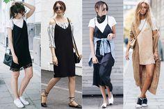 Como usar: Slip dress | Just Lia