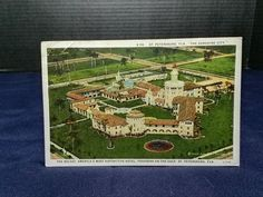 The Rolyat, St. Peterburg, FL. Asheville Post Cards, NC. dated 10/1/1926 STAMP
