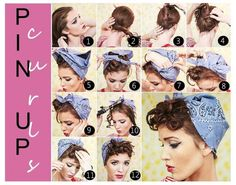 Retro Hairstyle Tutorials You Have To Try