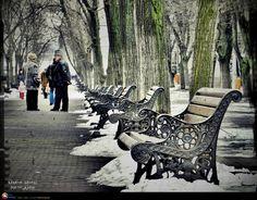 Pasi batrani Outdoor Furniture, Outdoor Decor, Romania, Bench, Park, Street, City, Parks, Cities