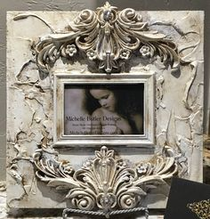 "Michelle Butler Designs Williamsburg Heirloom Frame 14"" x 14"" SHOP www.crownjewel.design"