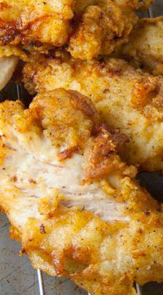 Easy Fried Chicken Tenders