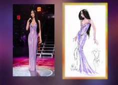 The Farewell Tour Wardrobe sketches - The Way of Love