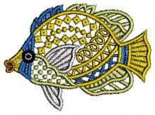 Fish Lace Embroidery Designs free design machine embroidery downloads