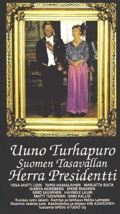 Uuno Turhapuro Suomen Tasavallan herra Presidentti juliste 1992