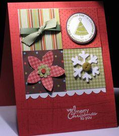 Pattern Paper Card