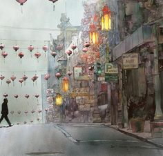 John Salminen - #watercolor #art