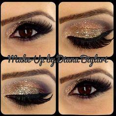 Beautiful look by   #makeup