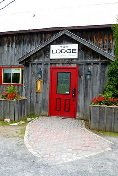 Ski Lodge Door