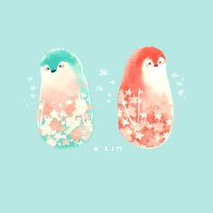 Spring time Penguins. :)