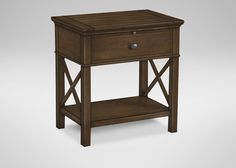 Alec Night Table - Ethan Allen, $432 on sale