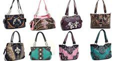 Camo Purses and Handbags and Rustic Bling http://www.therusticshop.com/?store=CamoforGirls