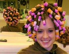Jim's a happy guy in rollers :p Natural Hair Regimen, Natural Hair Growth, Classic Hairstyles, Modern Hairstyles, Curly Hair Styles, Natural Hair Styles, Girly Captions, Marley Twists, Perm Rods
