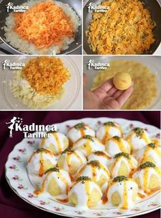 Yoğurtlu Havuçlu Patates Topları Tarifi potato al horno asadas fritas recetas diet diet plan diet recipes recipes Yogurt Recipes, Salad Recipes, Good Food, Yummy Food, Tasty, Potato Balls Recipe, Cottage Cheese Salad, Turkish Recipes, Mets