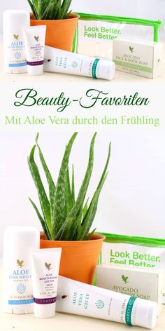 Beauty-Favoriten - Mit Aloe Vera durch den Frühling - forever living - hautpflege, beautylieblinge, aloe vera gelly, evershield, deostick, moisturizing lotion, face & body soap