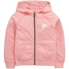 Nike Toddler Girl Gym Vintage Fz Hoody ($27) ❤ liked on Polyvore featuring baby clothes and jackets