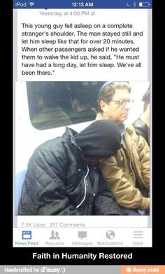 Faith in Humanity Restored / iFunny :)