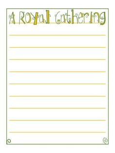 Journal Card - A Royal Gathering - Style 2 - green and teal - lines - Photo: A little journal card to brighten up your holiday scrapbook! Life Journal, Journal Pages, Yellow Line, Teal, Purple, Color Of Life, Smash Book, Disney Cruise, Happy Planner