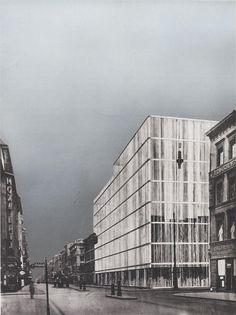 Miess friedrichstrasse 1923a | by rosswolfe1