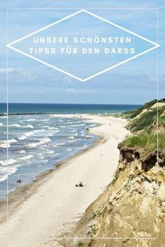 Kommt mit uns an die Ostsee - unsere schönsten Tipps für Fischland-Darss-Zingst. :) Vacations To Go, North Sea, Baltic Sea, Sandy Beaches, Best Cities, Germany Travel, Places To See, Travel Inspiration, Beautiful Places
