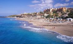 Playa de las Americas, Tenerife. I learned to swim here at the age of 4.
