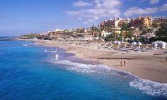 Playa de las Americas, Tenerife. Woo! Can't wait!!!