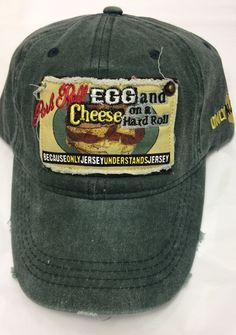 Jersey4Sure -  Pork Roll Egg Pork Roll, Rolls, Eggs, Hat, Cheese, Style, Chip Hat, Swag, Buns
