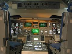Space Shuttle Cockpit replica at Hong Kong Science Museum