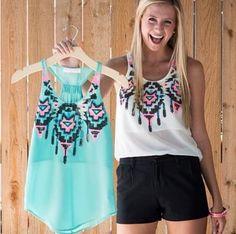 Summer Tops Woment Tops R$60