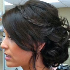 Possible hair for Amy's wedding